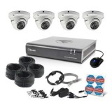Swann SWDVK-846004D 8 Channel 1080p DVR with 4 x PRO-A856 Dome Cameras