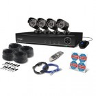 Swann SODVK-841004 8 Channel 960H 1TB DVR with 4 x PRO-735 700TVL Security Cameras