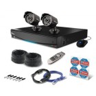 Swann SWDVK-414252F 4 Channel 500GB DVR with 2 x PRO-535 650TVL Cameras