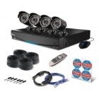 Swann SWDVK-814254F 8 Channel 500GB DVR with 4 x PRO-535 650TVL Cameras
