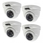 Swann NHD-816 3MP Security Dome IP Camera 4 Pack