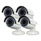 Swann NHD-830 3MP Varifocal Bullet IP Camera 4 Pack