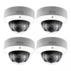 Swann NHD-831 3MP Security Dome IP Camera 4 Pack