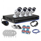Swann SWNVK-870904B 3MP NVR 8 Channel with 4 x 3MP NHD-835 Cameras