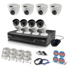 Swann SWNVK-874008M 8 Channel 4MP NVR with 4 x NHD-818 and 4 x NHD-819 Cameras