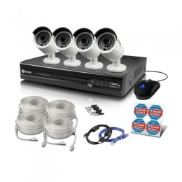Swann SWNVK-874004 8 Channel 4MP NVR with 4 x 4MP NHD-818 Cameras