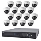 VIP Vision 16 Channel Ultra HD NVR with 16 x 3MP Motorised Varifocal Dome Cameras