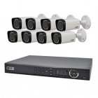 VIP Vision 8 Channel Ultra HD NVR with 8 x Motorised Varifocal 3MP Bullet Cameras